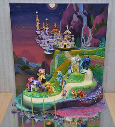 Jane zubova my little pony cake