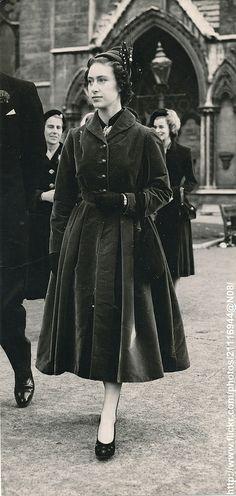 Princess Margaret attends wedding