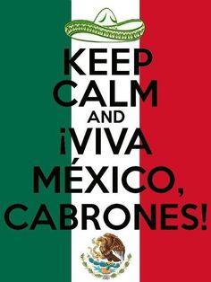 Viva México! 16 sept -->independence day