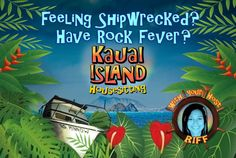 The first rendition of Kauai Island Housesitting, my business card front. Find out more here:  riffero.com #KauaiIslandHousesitting