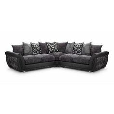 The Shannon Faux Leather and Fabric Corner Sofa is a strong, sturdy set of living room furniture that adds a modern, contemporary feel to your surroundings. Faux Leather Sofa, Leather Fabric, Corner Sofa, Fabric Sofa, Contemporary, Modern, Living Room Furniture, Sofas, Couch