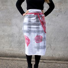 Cute kitchen apron on Fab.com by Valentine Viannay Design.