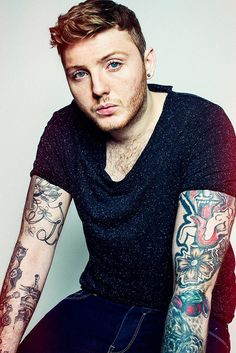 James Arthur Love the tatoos !