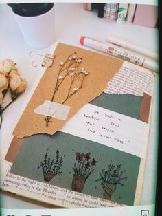 Junk Journal, Bullet Journal, The Pleiades, Scrapbook, Letters, Beautiful, Stationery Shop, Notebooks, Report Cards