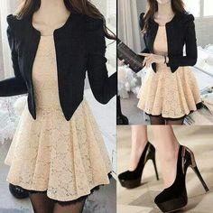 Sweet casual fashion