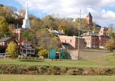 Galena, IL - 86% of the houses are on the National Historic Register
