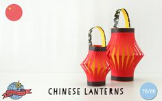 Chinese Lanterns | China | Around the World in 80 Days | Moomookachoo