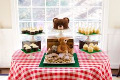 Teddy Bear Picnic First Birthday