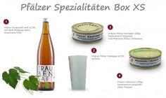 Pfälzer Spezialitäten Box XS - Pfalz Korb