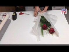 Курсы Флористики I Оформление букетов I Как работать с Упаковкой I ШКОЛА ФЛОРИСТИКИ I floristry - YouTube