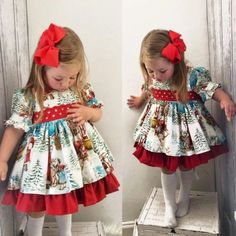 US Vintage Toddler Kid Baby GirlChristmas Flared Party Santa Swing Dress Clothes - Santa Dress - Ideas of Santa Dress - US Vintage Toddler Kid Baby GirlChristmas Flared Party Santa Swing Dress Clothes Price : Toddler Girl Dresses, Toddler Outfits, Baby Boy Outfits, Girls Dresses, Girl Toddler, Xmas Dresses, Baby Dresses, Holiday Dresses, Toddler Christmas Outfit