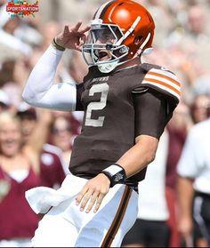 Johnny Football is a Brown... #DawgPound