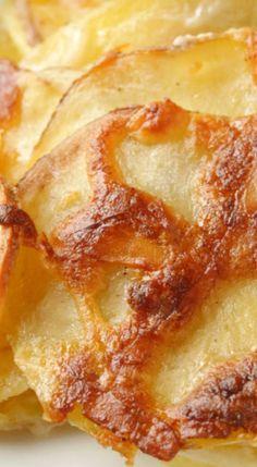 Scalloped Parmesan Potatoes.