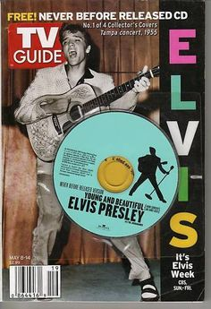 Elvis TV Guide cover/CD