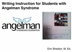 Video of the Week: Writing Instruction for Students with Angelman Syndrome