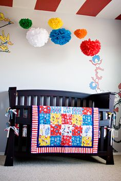 Dr. Seuss room! That's rad. Would be great for a kids room, not just for babies! Ah heck, it would be awesome for MY room!