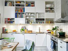 perfect white kitchen