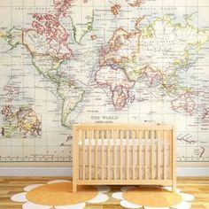 Vintage-Old-World-Map