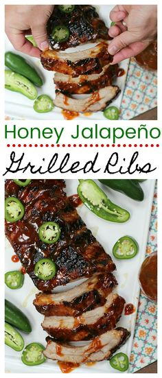 If you think making a fall-off-the-bone tender rack of ribs is hard, it's time to think again! Check out our Honey Jalapeño Grilled Ribs made with Smithfield Brand Marinated Pork from Walmart and discover how simple it is to make perfect ribs this summer! Pork Back Ribs, Ribs On Grill, Bbq Ribs, Barbecue, Pork Ribs Grilled, Marinated Pork, Rib Recipes, Grilling Recipes, Cooking Recipes