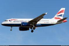 G-EUPL British Airways Airbus A319-131