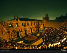 Athens, Greece, Herodes Atticus Theater