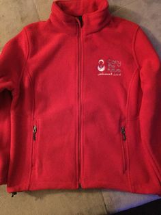 Carry The Future Fleece Jacket.  We can do any size or color.
