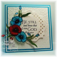 ODBDSLC160 Red/White/Blue or Patriotic - Stamps Our Daily Bread Designs Mother's Day, Scripture Collection 3