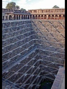 Deepest Stepwell in the World - Rajashtan, India