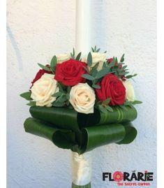 Lumanare botez trandafiri crem si rosii Terraria, Terrariums