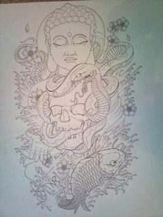 Snake and Buddha