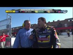 Tony Stewart Interview About Logano incident