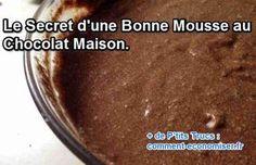 Avec la recette de notre grand-mère, votre mousse au chocolat est inratable. Regardez :-)  Découvrez l'astuce ici : http://www.comment-economiser.fr/mousse-chocolat-maison.html?utm_content=buffer4e8e5&utm_medium=social&utm_source=pinterest.com&utm_campaign=buffer