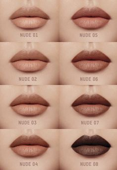 Lipstick Swatches, Lipstick Colors, Makeup Dupes, Beauty Makeup, Makeup Inspo, Makeup Inspiration, Brown Lipstick Shades, Best Hair Oil, Natural Lipstick