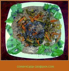 Comer y Callar : Amaranto con verduras primaverales variadas
