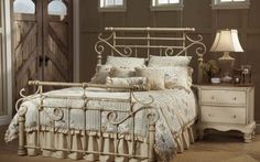 Styling new classic metal bedroom furniture design ideas interior
