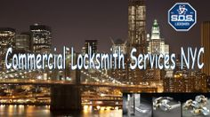 Servicing commercial businesses and offices in the New York City area, SOS Locksmith provides a multitude of corporate locksmith services to bolster security in your Manhattan office or building.