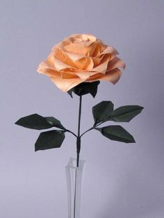 Robert Lang origami rose