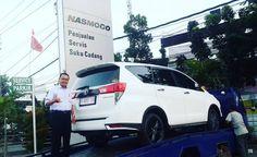 Siap kirim Jakarta lagi… Terima kasih atas kepercayaan Bapak Salman yang telah melakukan pembelian 1 unit Toyota Innova Venturer melalui ToyotaSemarang.com Semoga berkah untuk keluarga…... Toyota Innova, Semarang, Jakarta, Van, Vans