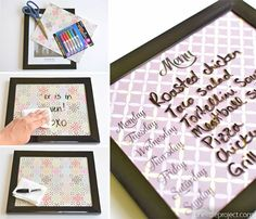 These DIY whiteboards are ridiculously easy to make. It takes less than five…