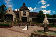 Pleasantdale Chateau - Best Garden Wedding venues NJ