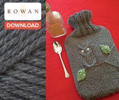 Free Rowan hot water bottle cover - LoveKnitting blog