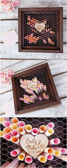 Creative and Unique Guest Book Ideas for Wedding Receptions is part of Wedding guest book unique Check out these creative guest book ideas that are fire! Consider ditching the traditional guest book - Rustic Wedding Guest Book, Wedding Book, Dream Wedding, Wedding Day, Guest Book Ideas For Wedding, Unique Guest Book Ideas, Wedding Wishes, Wedding Guest Gifts, Wedding Keepsakes