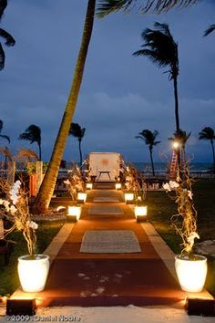 Wedding on the beach (casamento na praia).