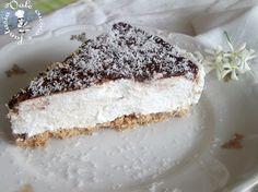Cheesecake al cocco e nutella,fresca e golosa senza cottura tanto cocco e nutella un'accoppiata vincente che piace a tutti freschissima e dal sapore esotico