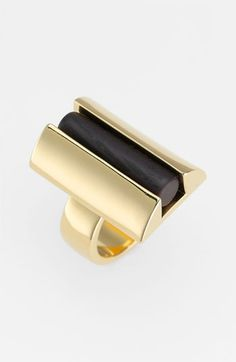 Tory Burch 'Column Resin' Statement Ring available at #Nordstrom