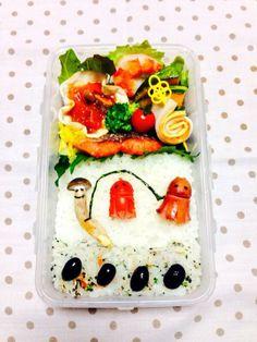 posted from @miki_teeeeeea @miki_teeeeeea: @お弁当アート ~日本のお弁当文化~ なわとびで遊ぼう★2013.12.2 #obentoart