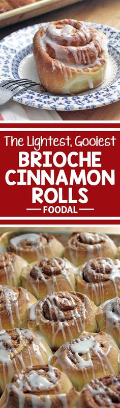 Everyone loves a gooey cinnamon roll, but all too often they can be so painfully sweet. But not these nice and light buns made with our favorite brioche dough! The perfect addition to a weekend brunch, or just a special midweek treat, you can enjoy them without being thrown into an all-day sugar coma. Find the recipe on Foodal now: http://foodal.com/recipes/breakfast/the-best-brioche-cinnamon-rolls/