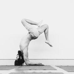 "patrickbeach: ""open heart, open mind #yoga """