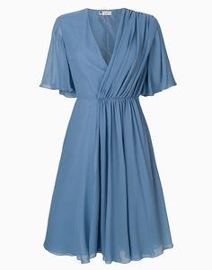 Урок флористики: 10 васильковых платьев   Мода   Выбор VOGUE   VOGUE