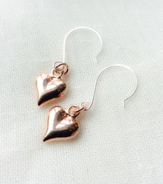 A personal favourite from my Etsy shop https://www.etsy.com/uk/listing/471791048/rose-gold-earrings-everyday-earrings